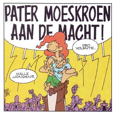 Pater Moeskroen Aan De Macht! - front small